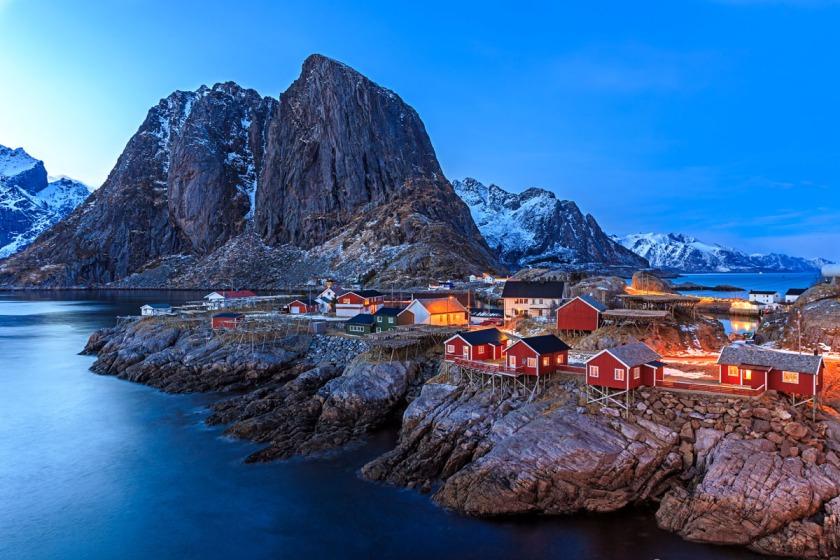 Rorbuer Lofoten Islands, Norway